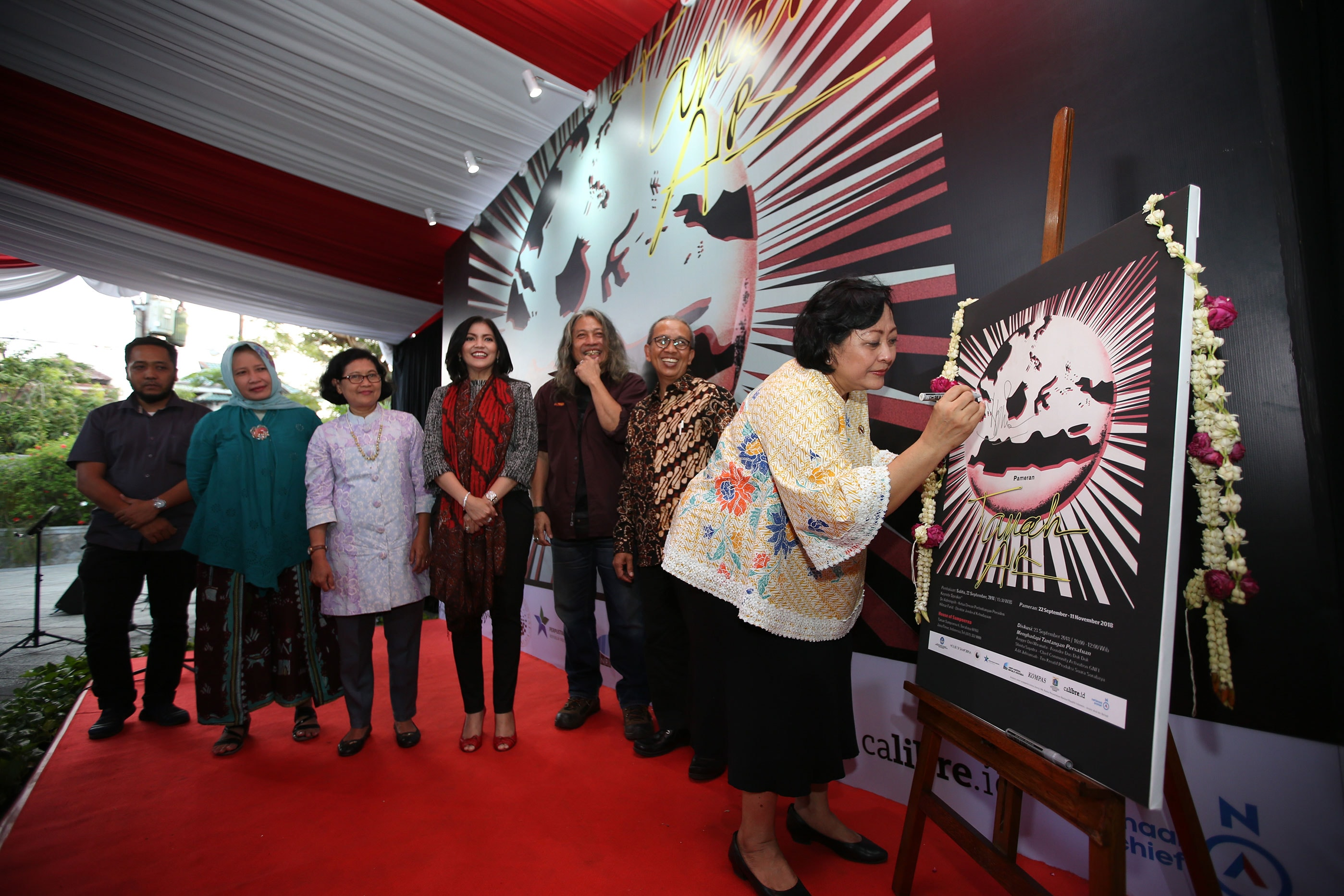 Sampoerna Holds Tanah Air Exhibition And Youth Discussion To Dji Sam Soe Keretek 12 Commemorate Pledge